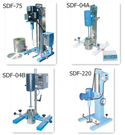 SDF-04B high shear lab mixer disperser