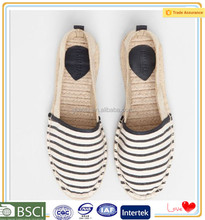 Newest model trendy beautiful china rubber outsole for small quantity espadrilles shoes