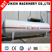 China mobile fuel oil lng lpg storage tank semi trailer/gas filling machine station