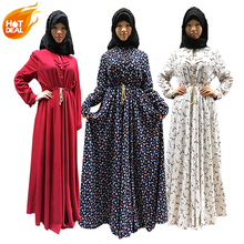 2017 new model muslim abaya dress in dubai
