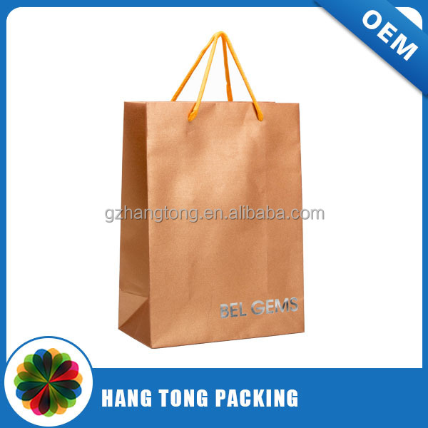 Creative wholesale custom restaurant paper bags guangzhou