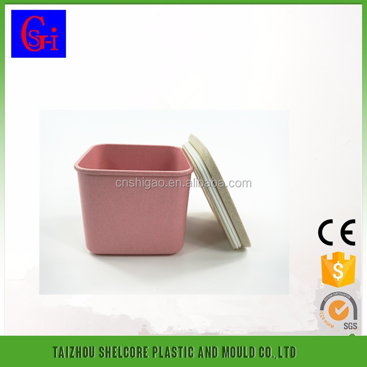 Small Biodegradable Wheat Fiber Storage Seal pot