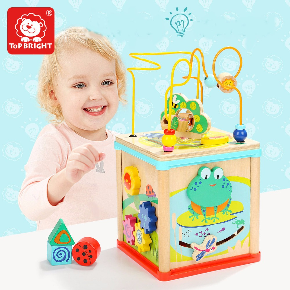 Exercise Baby's Hand Flexibility Five-in-one Frogs Around The Chest Toys For Kids Educational