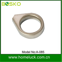 Novelty design Zamac or zamak circle cabinet handles with competetive price
