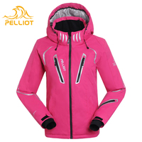 Famous brand winter ski red jackets for boys