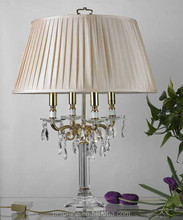 crystal chandelier table lamp 9034