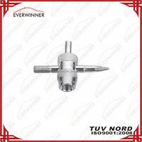 4 IN 1 Tire Valve Repair Tool, 4 Way Valve Tool VT-001