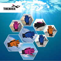 Best quality Hot sale Thenice snorkeling gloves protective swimming gloves
