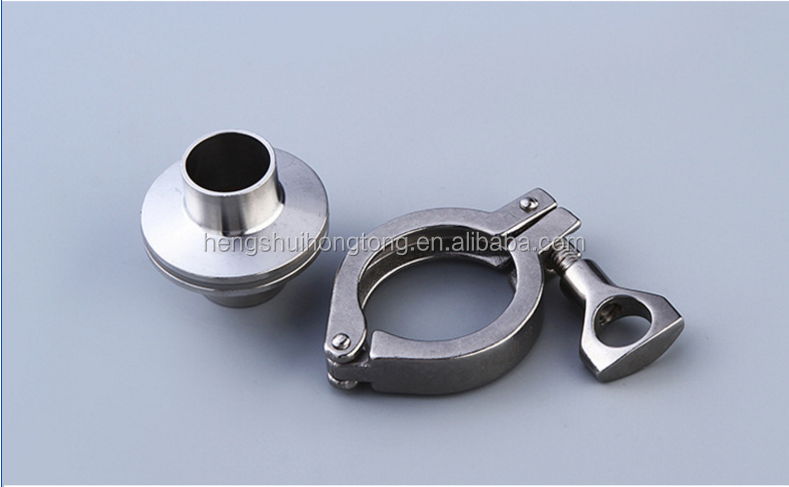 Stainless steel heavy duty double pin clamp tri clamp 13MHH
