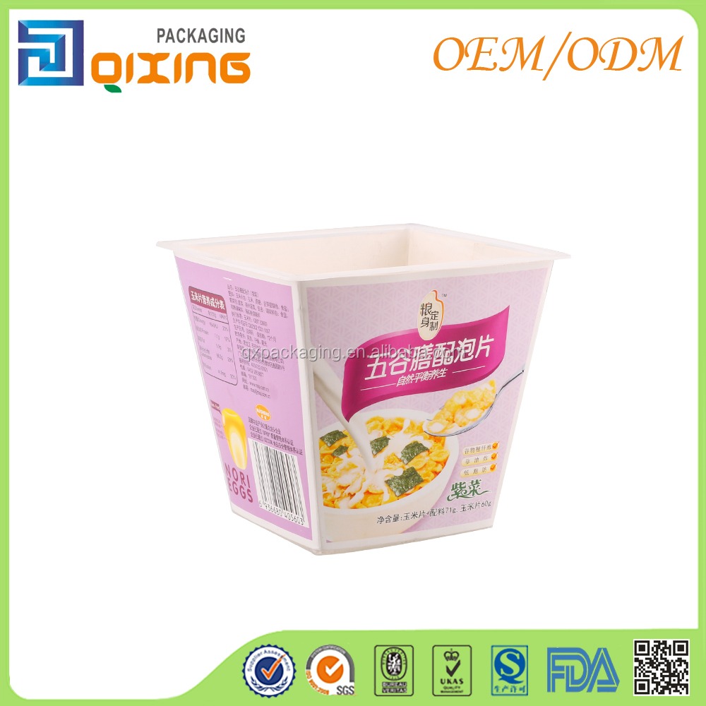 Food grade cornmeal corn flakes packaging boxes