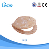 Cleaning healthful round decorative easy installation poly resin toilet seat