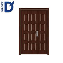 walnut color commercial many design american steel door for inner room using