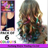 Top selling Temporary Color Hair Chalk In Gift Tin Ready color chalk for hair