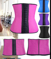 Workout gym walson Wholesale Open Hot Sex Latex Waist Trainer Body Shaper