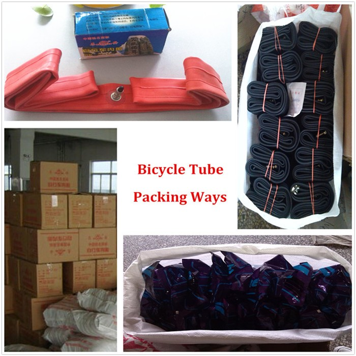 Tricycle tire tube 4.00-8 natural rubber tube