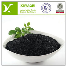 High concentrated black Granular seaweed organic npk 17-17-17 fertilizer