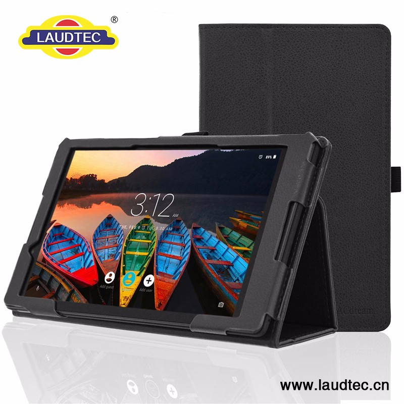 Durable Leather Table Case for Samsung Tab 3. 8
