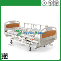 high quality ABS electric hospital nursing home care bed