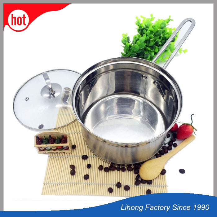 Stainless Milk Boiling Pot Noodle Coffee Cooking Pot