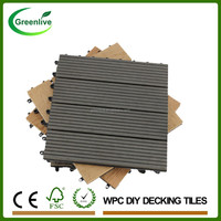 Wood plastic composite machine for tiles decking