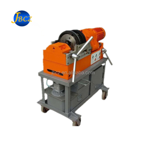 Steel rebar tapered thread rolling machine for construction project