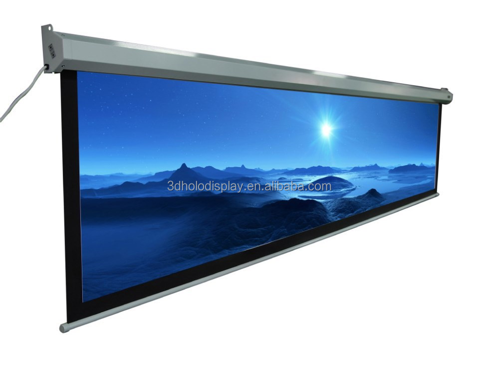 300 Large Electric Projector Screen Motroized Projection