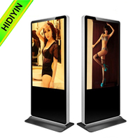 "Original 65"" inch HD 1080P single sreen wifi 3g sexy vedios high quality ad player"