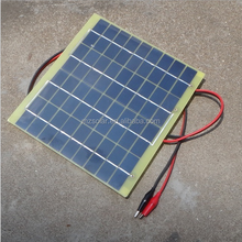 Solar panels 5W 18V 12V battery polysilicon solar charge plate