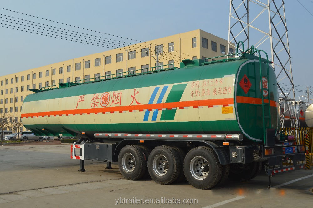 33000 liter best fuel transportation tanker air bag suspension truck semi trailer