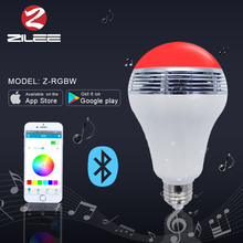 China supplier new led bluetooth speaker led light,color changing smart home bulb,music play led lighting