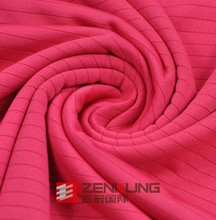 95% Polyester and 5% Spandex Jersey Knitted Fabric for garment
