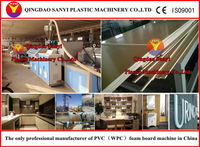 wpc foam furture making machine