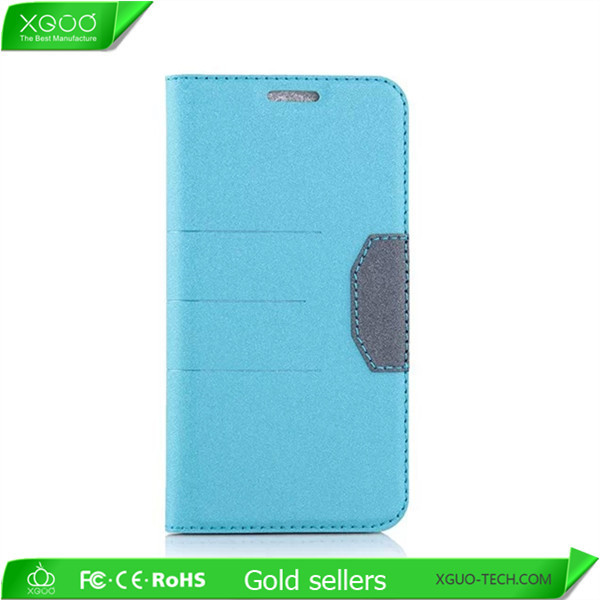 For Samsung Galaxy s6 flip leather case