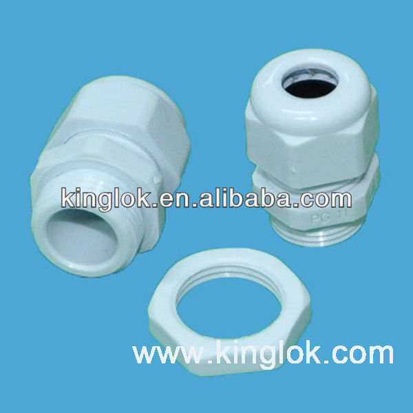 PG13.5 nylon cable gland strain relief