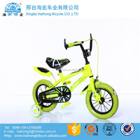 12 inch steel frame plastic rim EVA tire fashion child bicycle 12 / safty children bicycle helmet / new model children bicycle