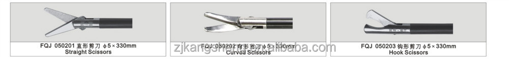 Laparoscopic surgical instruments/surgical scissors