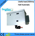 200 AMP 3 phase power energy saver with LCD,LED display