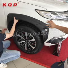 KQD High fitment car accessories Injection abs wheel fender flares for mitsubishi pajero