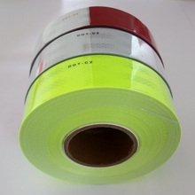 Lime Green Truck Arrow Dot C2 Ece 104R 00821 Reflective Tape
