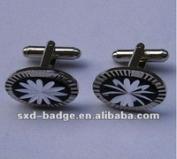 2014 hot sale metal stainless steel cufflinks