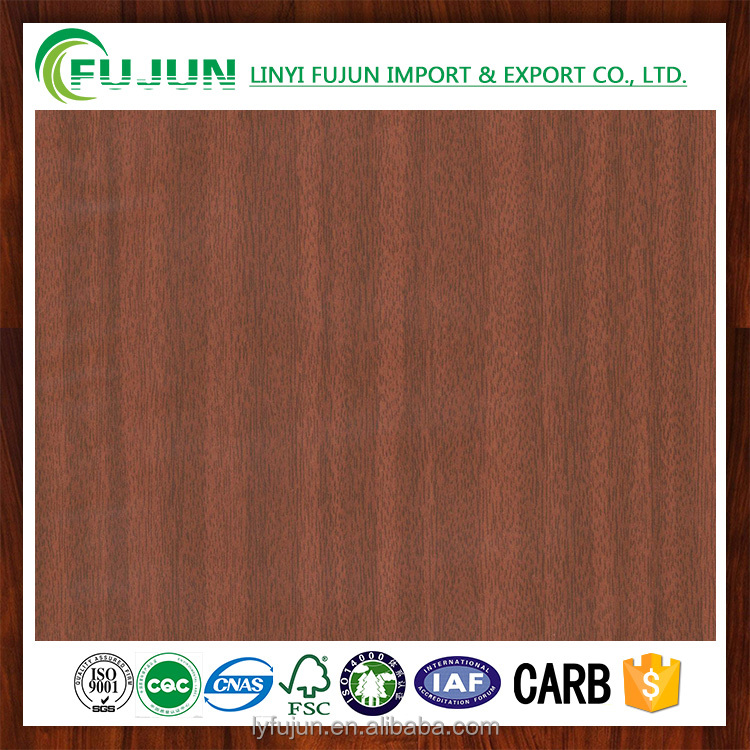 High Quality Cheap Cherry Decorative Wood Grain Paper