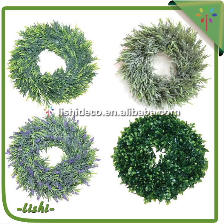 2017 New Arrival ! Customized design Best Quality decorative spring wreaths