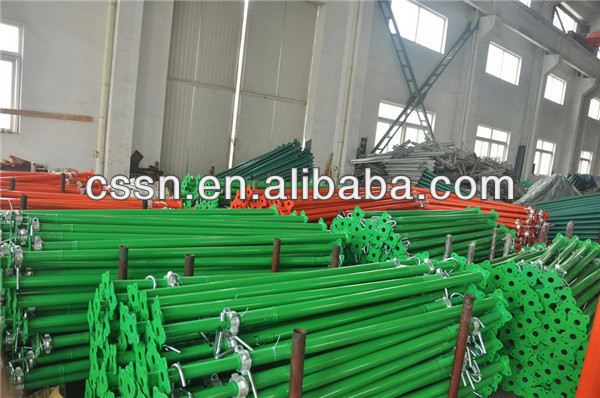 Telescopic Construction Scaffolding Pole