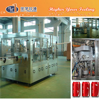 Aluminium Can Carbonated drinks Filling-Sealing Machine