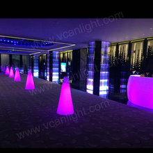 RGB Rechargeable lighting bar furniture, led bar table used for nightclub fashion party