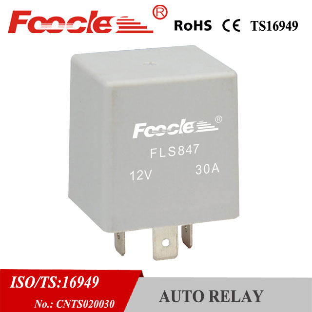 automotive micro 12v 30a auto flasher relay for peugeot