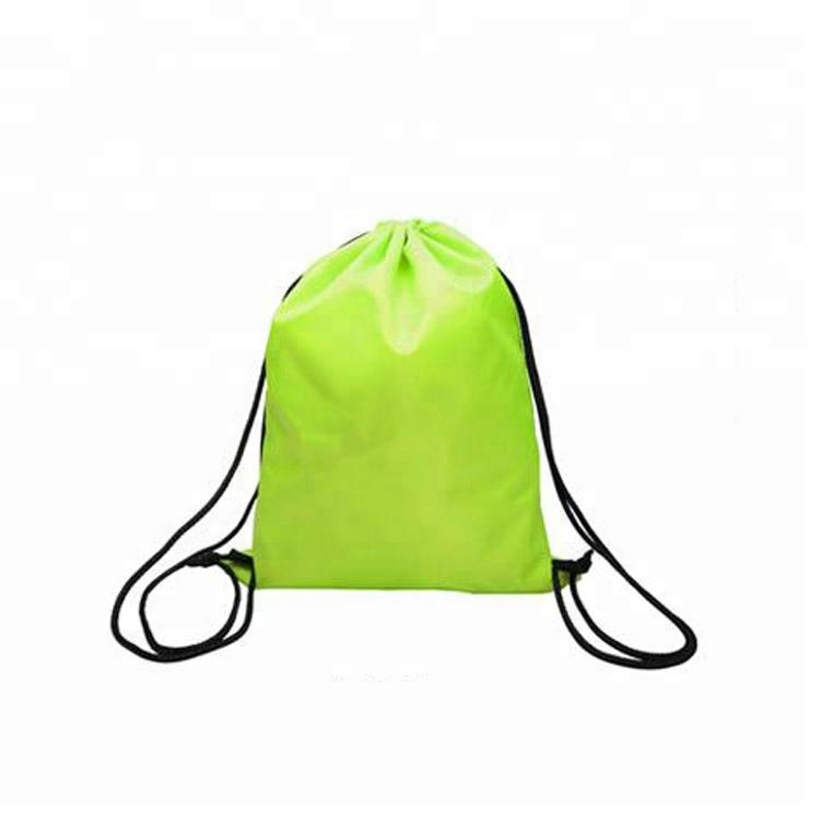 210D Polyester Diaper Camping Drawstring Waterproof Backpack <strong>Bag</strong>