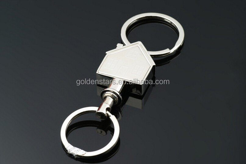 Newest desinger 2014 top hot sales funny Hourse shape quickly Release Keyring Promotion