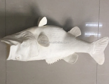 Animal fish rapid prototype model development service by 3d printing sla