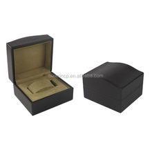 Custom-made sallow pu faux suede watch box